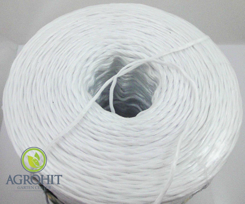 Verpackungsbindfaden Schnur Paketschnur Bindfaden Kordel Bindeband Seil gelb PP